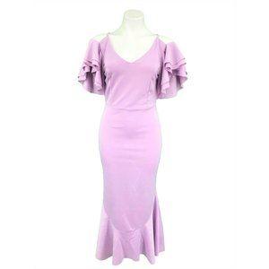 CBR Low Back Dress Size Large Purple